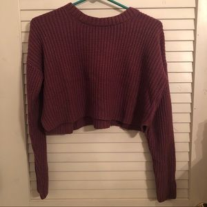 Forever21 crop top sweater